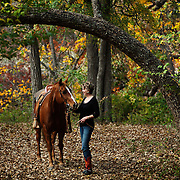Fort Worth rancher and businesswoman, Shirlee Gandy on her Station Branch Ranch near Acton, Texas.