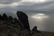 Landscapes of the Chukchi Peninsula. The Far East of Russia