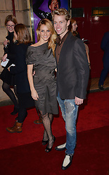 Aliona Vilani and Trent Whiddon attend Memphis Press Night at The Shaftesbury Theatre, Shaftesbury Avenue, London on Thursday 23rd October 2014