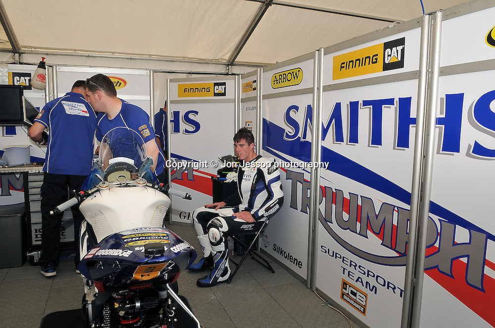 #5 Graeme Gowland Smiths Racing Triumph British Supersport