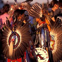 Pow Wow Dancer, Duck Lake Pow Wow, (Cree Tribe), Saskatchewan, Canada