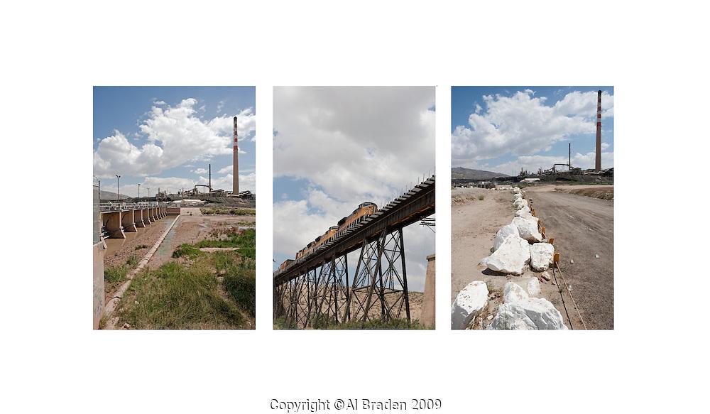 Dam, Rail and Stone Border