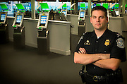 Customs and border protection officer at Philadelphia International Airport