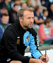 Bristol Rovers assistant manager, Marcus Stewart - Mandatory byline: Neil Brookman/JMP - 07966386802 - 15/08/2015 - FOOTBALL - Huish Park -Yeovil,England - Yeovi Town v Bristol Rovers - Sky Bet League One