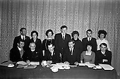 1963 - New Committee of the Kerrymans Association in Dublin