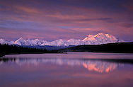 Mount McKinley, Wonder Lake, Denali National Park Preserve,Alaska, USA