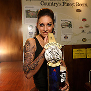 Cult beer Hobgoblin unveiled a new hand pull at the Great British Beer Festival London