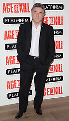 Billy Murray attends Age of Kill VIP Screening at the Ham Yard Hotel, Soho, London on Wednesday 1 April 2015
