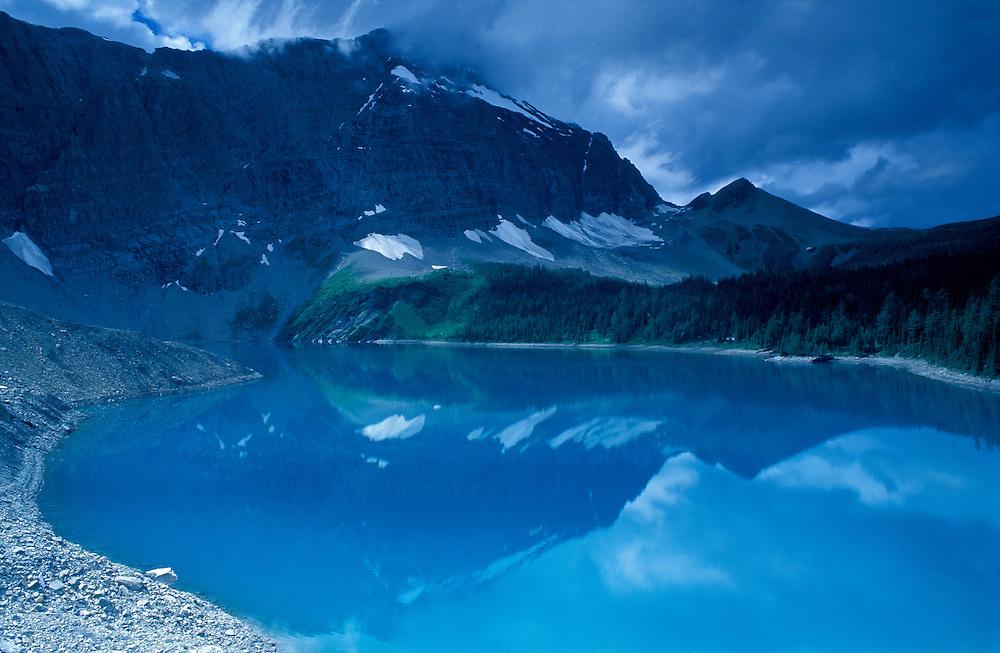 Floe Lake, Kootenay  National Park, British Columbia, Canada