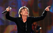 LONDON, ENGLAND - JULY 06:  Mick Jagger of The Rolling Stones performs live on stage during day two of British Summer Time Hyde Park presented by Barclaycard at Hyde Park on July 6, 2013 in London, England.  (Photo by Simone Joyner)