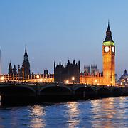 City of Westminster panoramic city skyline
