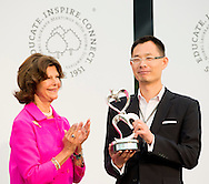 23-8-2014 - MAINUA  - with price winner Bin Wan Queen Silvia of Sweden visit the island of Mainau, to celebrate the 15th anniversary of the Children's Aid Foundation World Childhood Foundation as part of the closing ceremonies of the 5th Lindau Meeting in Economic Sciences as well as the subsequent exclusive anniversary celebration at Castle Mainau. <br /> COPYRIGHT ROBIN UTRECHT