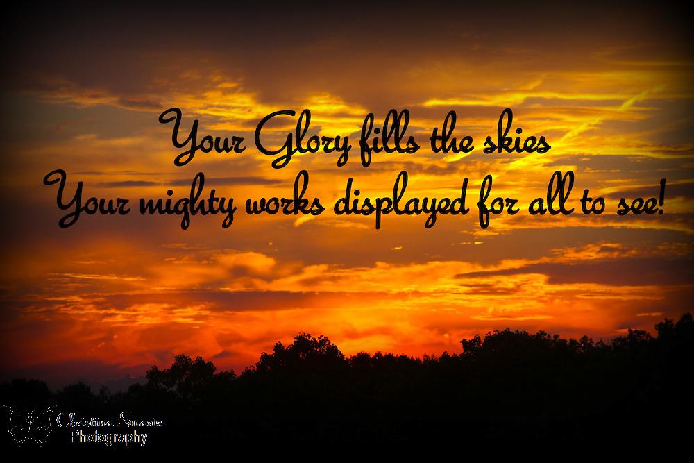 Bible Verses About Sunsets Ohio Sunset Bible Verse