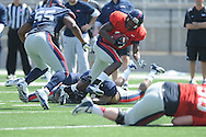 Ole Miss football scrimmage at Vaught-Hemingway Stadium in Oxford, Miss. on Saturday, April 6, 2013.