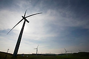 Hadyard hill wind farm in South Ayrshire has 52 wind turbines. It generates over 120MW of zero carbon electricity supplying enough electricity to power 80,000 homes.