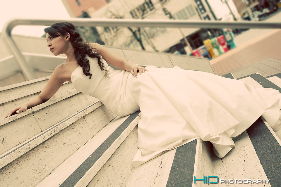 Silver Lining Wedding Gowns editorial
