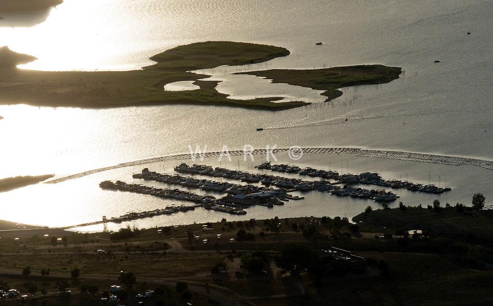 South shore marina. Lake Pueblo, Colorado. June 2014
