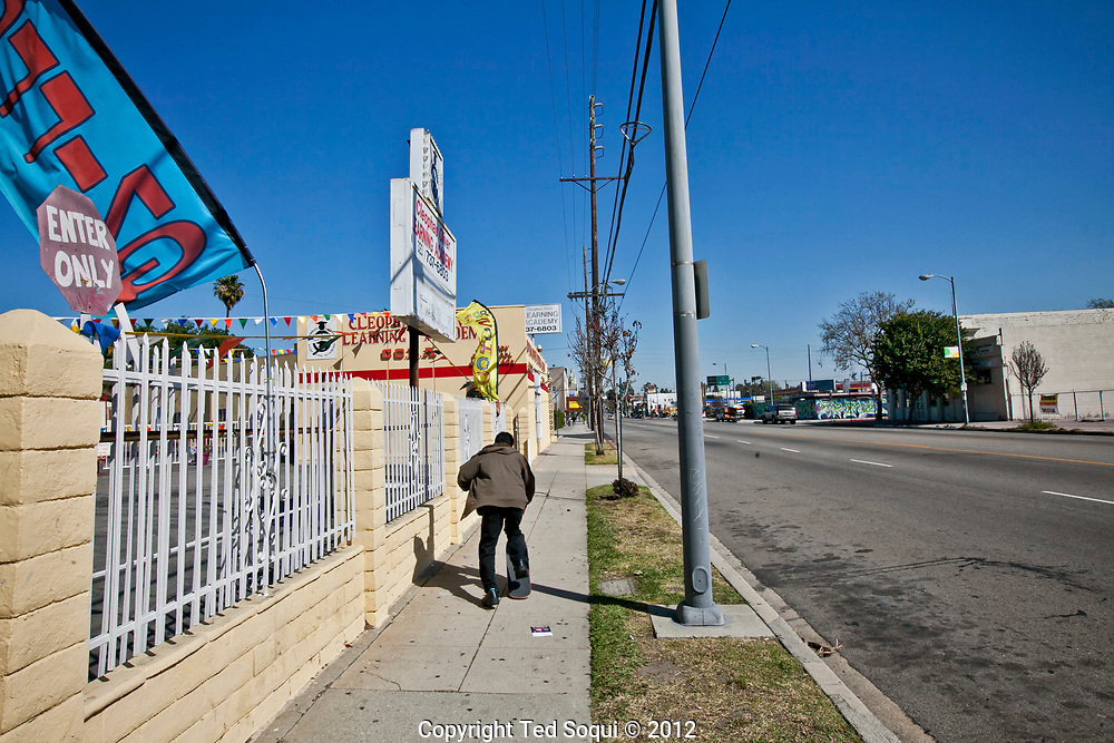 W.Adams Blvd. in South Los Angeles 20 years later.