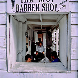 The Spot Barber Shop, San Pedro, Ambergris Caye, Belize