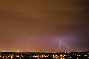 lightning strikes, Denver, Colorado