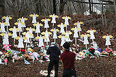 SandyHook Massacare Aftermath in Newton, Conneciticut