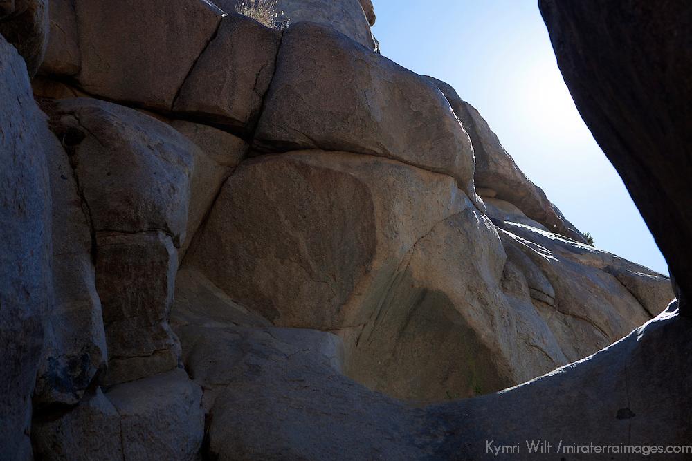 USA, California, Joshua Tree. Wonderland of Rocks area near Joshua Tree.