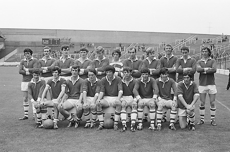 22.08.1971 Football All Ireland Semi Final Cork Vs Offaly..Junior CorkTeam.