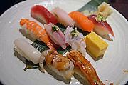 Assorted sushi, Tokyo