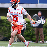 Syracuse Midfielder PAT CARLIN (15) in action during the second half of a 2017 NCAA Division I Men's Lacrosse Quarterfinals game between unranked Towson and #2 Syracuse Sunday, May. 21, 2017 at Delaware Stadium in Newark, Delaware.