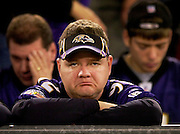"""""""Not happy. We don't deserve to win"""" said Ken Foster of Bel Air as the fourth quarter of the AFC Divisional game between the Baltimore Ravens and Indianapolis Colts ticked down to the end. The Ravens lost 15-6 to the Colts iat M&T Stadium."""