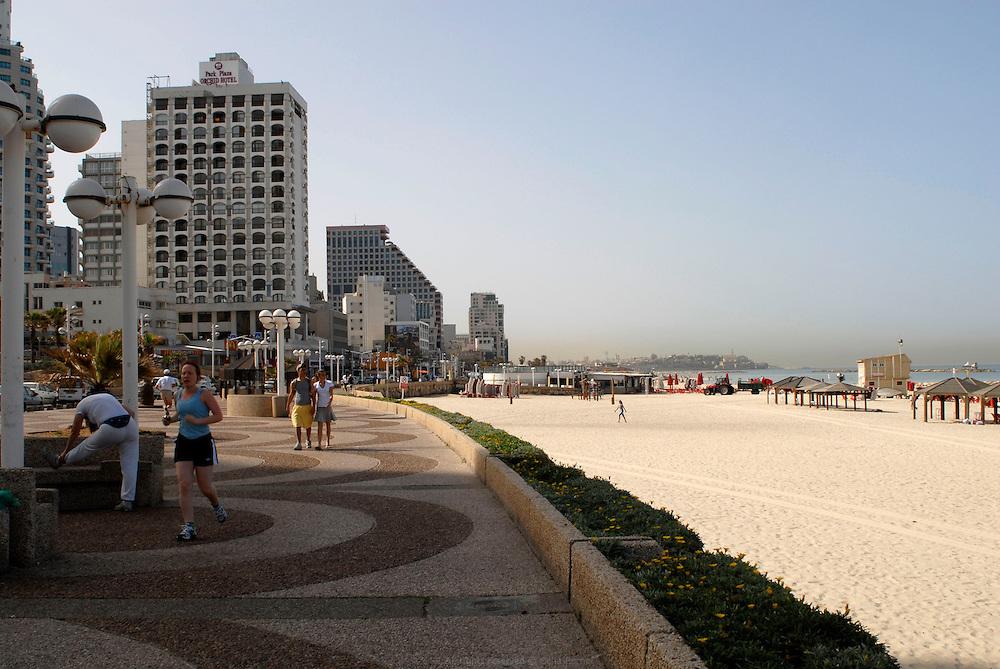 Tel Aviv's beach