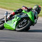 14 AUGUST 2009: AMA at Virginia international race way super bike super pole. 88 Jamie Hacking