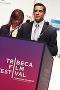 Rich Lehrfield at The 2009 Tribeca Film Festival Opening Press Conference Kick-Off held at The Borough of Manhattan Community College in New york City on April 21, 2009