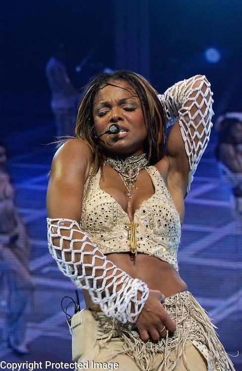 Janet Jackson performs in Washington, DC