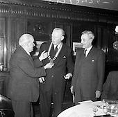 1962 - Presentation College, Cork P.P.U. (Dublin Branch) Dinner at Jammets