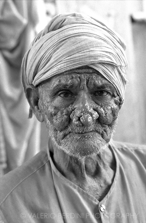 An old men in the market