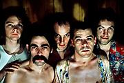 Ian Dury - Kilburn and the High Roads lineup 1975