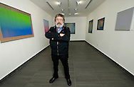Retrato del Maestro Cruz Diez  durante su exposici&oacute;n, El color, una circunstancia espacial y temporal.<br /> Nacido en Venezuela y radicado desde hace muchos a&ntilde;os en Par&iacute;s, es uno de los fundadores y m&aacute;ximos exponentes del arte cin&eacute;tico<br /> Mari&oacute;n Gallery, Ciudad de Panam&aacute;. Abril 27, 2010<br /> Ramon  Lepage / Istmophoto