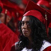 464 William Penn graduates watch William Penn 93rd commencement exercises Monday, June 08, 2015, at The Bob Carpenter Sports Convocation Center in Newark, Delaware.