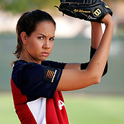 Cat Osterman, USA Softball, for Wilson Sporting Goods