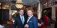 Holland acht , holland8 Marc Bolland (l) van Marks& Spencer en Ben Woldering van Bencom