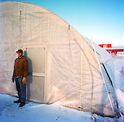 Tim Meyers of Meyers Farm in Bethel, Alaska. 2011