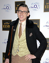Ben Shires attends Elvis At The O2 Gala Night at The O2, Peninsula Square, London on 15th December 2014