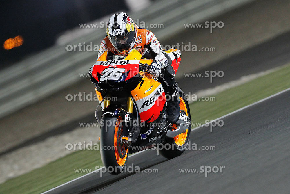 19.03.2010, Doha, Katar, QAT, MotoGP, Tests im Bild Dani Pedrosa - Repsol Honda team, EXPA Pictures © 2010, PhotoCredit: EXPA/ InsideFoto/ Semedia / SPORTIDA PHOTO AGENCY