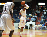 "at the C.M. ""Tad"" Smith Coliseum in Oxford, Miss. on Friday, November 11, 2011. Ole Miss won 60-38 in the season opener."