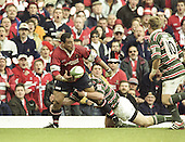 20010421  Heineken Cup Semi Final.Gloucester Rugby vs Leicester Tigers. Vicarage Rd, Watford. UK