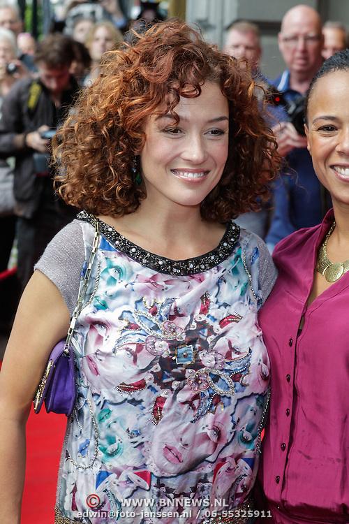 NLD/Amsterdam/20120610 - Premiere film de Club van lelijke Kinderen, Katja Romer - Schuurman