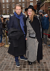 Greg Williams and Alice Temperley attend The Working Title Pre BAFTA VIP Brunch at the Chiltern Firehouse, London on Saturday 7 February 2015