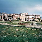 Square in Argirokastro / Gjirokastër