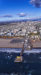 LOS ANGELES, CA - DECEMBER 24 Aerial stock photos of southern california iconic venues. Byline, credit, TV usage, web usage or linkback must read SILVEXPHOTO.COM. Failure to byline correctly will incur double the agreed fee. Tel: +1 714 504 6870.